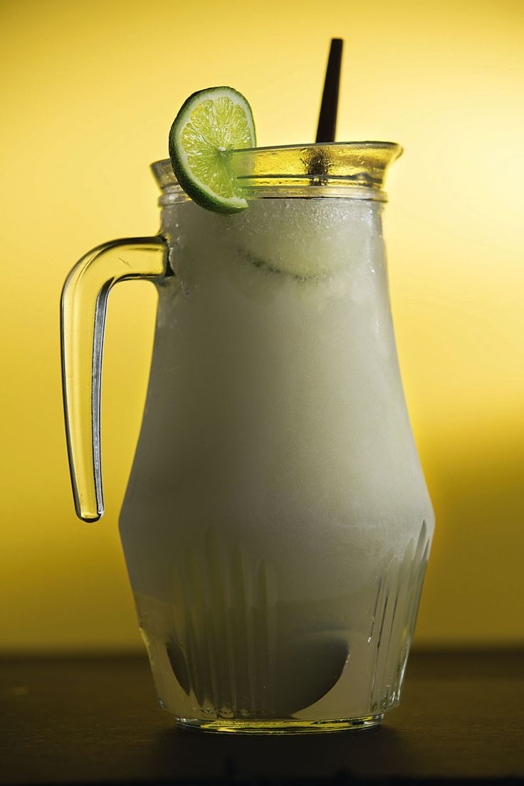 Frozen Limeade Margarita Recipe | SAVEUR | Canned frozen limeade intensifies the citrus flavor of this slushy Mexican-inspired libation.