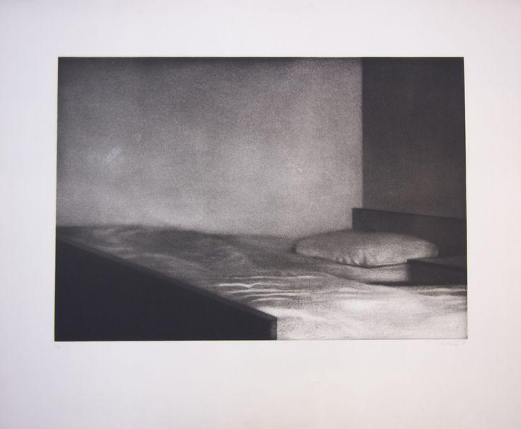 Obra grafica José Manuel Ballester Serie Interior Exterior // Heliograbados   ediciones estiarte   Habitación, 1998     Grabado al aguatinta     Edición de 50 ejemplares     77 x 93 cm.     Precio: 1.550 .-eur +IVA