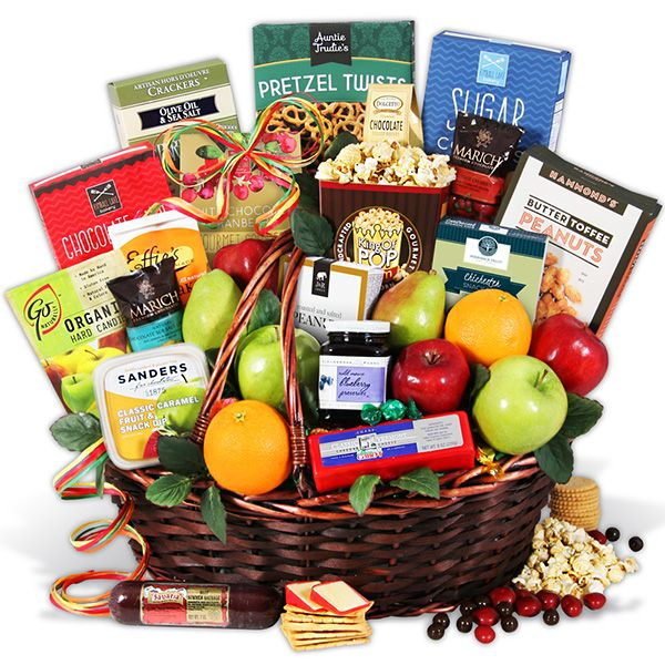 Estate Collection - Fruit Gift Basket