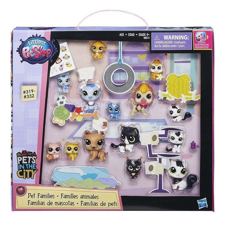 LPS Littlest Pet Shop Pets in the City Families #319- #332
