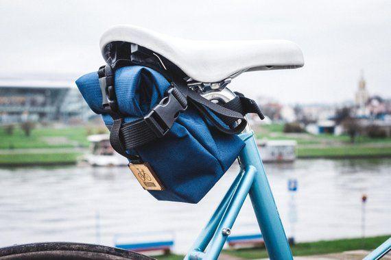 Waterproof Roll Top Saddle Bag Seat Bicycle Bag Bike Bag Bags