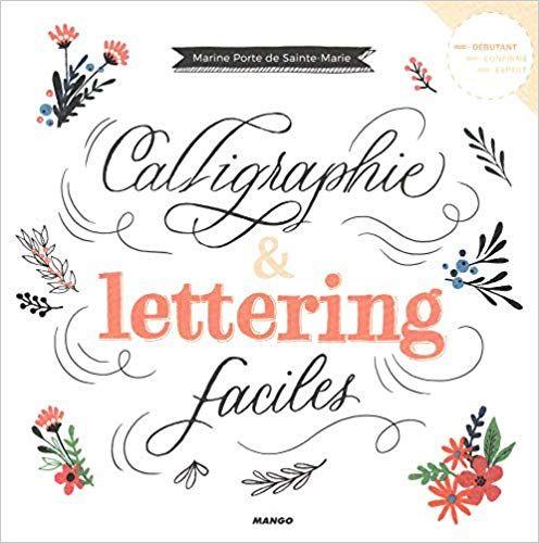 Amazon Fr Calligraphie Et Lettering Faciles Marine Porte De