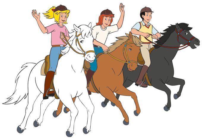 Ausmalbilder Bibi Und Tina Mit Pferde Ausmalbilder Bibi Und