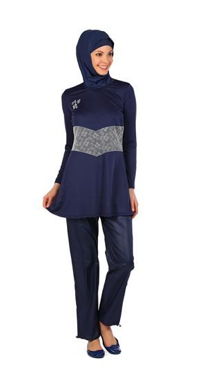 Eflal - Fully Covered Islamic Swimsuit for Ladies