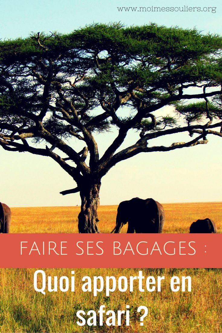 Rencontrer le « Big Five », ça vous dit? En fait, cette expression désigne les cinq grands animaux d'Afrique, comme les lions, les éléphants, etc. Je suis certaine que l'idée vous a déjà traversé l'esprit, que vous écoutiez le National Geographic petit à la télé et rêviez d'explorer le continent africain. Je me trompe? Que faut-il apporter dans ses bagages pour un safari?
