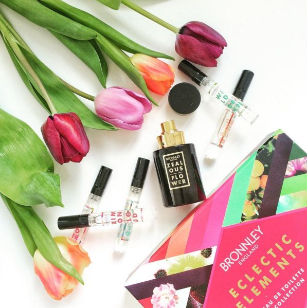 The Ecletic Elements fragrance collection by @bronnley #bronnley #fragrance #flowers #pretty
