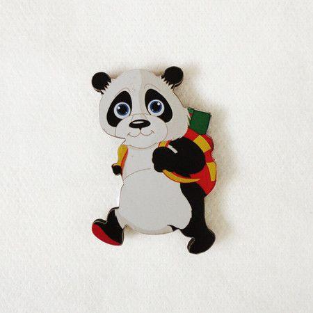 #AD413 - Aplique decorado de panda nº2