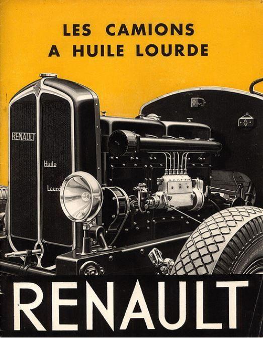 Huile lourde Renault