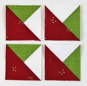 Woohoo!  It's Friday and Day 4 of the Quilt-Along!  Today we'll be making half-square-triangle units... only kidding!!  As promised we're mo...