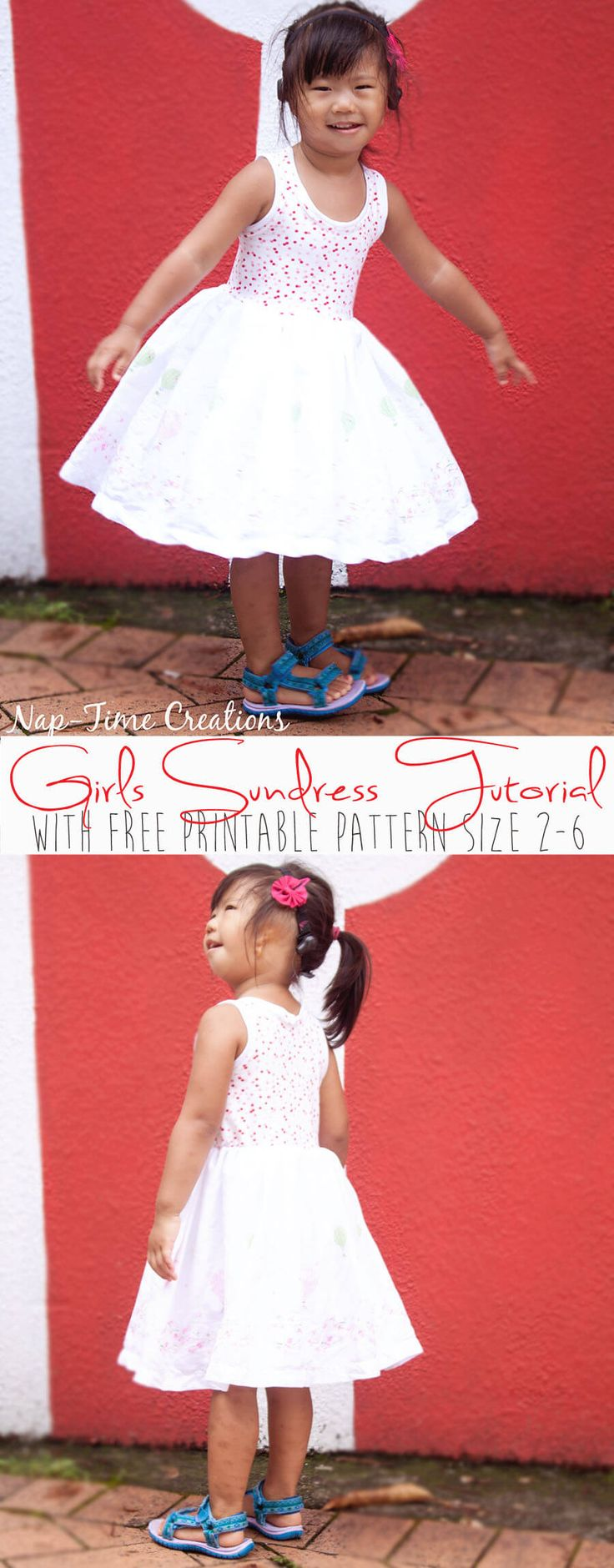Girls-Sundress-Tutorial-with-Free-Printable-Tank-for-Melly-Sews-Sundress-Series by Nap-Time Creations