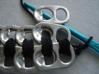 Instructions pour faire un sac à main sur onglets pop