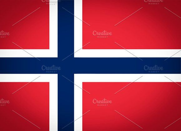 Flag of Norway. Europe #flags