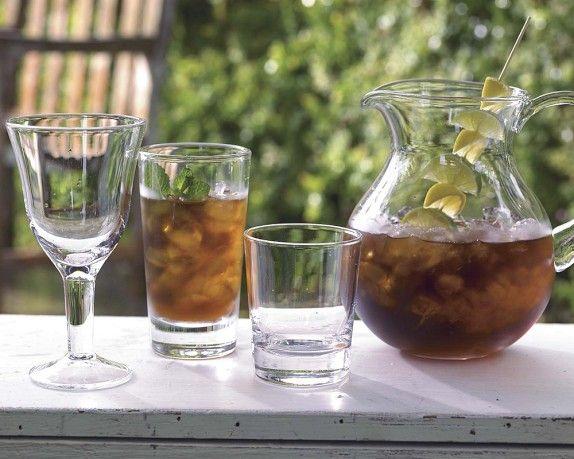 Like the citrus skewer garnish | Williams-Sonoma Pitcher | Williams-Sonoma