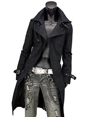 トレンチコート メンズ ロング トレンチ ロングコート ロング丈 ツイル 127010 黒B(無地) ブラック M SaganStyle http://www.amazon.co.jp/dp/B008EHF0RO/ref=cm_sw_r_pi_dp_doO0vb1QBC5MD
