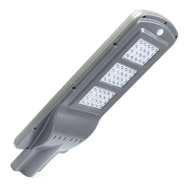 Crépuscule imperméable actionné solaire de capteur de 60W - Dawn LED réverbère avec à télécommande