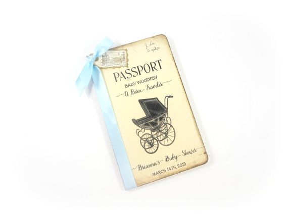 Baby Wish Book Travel Baby Shower Guest Book Personalized