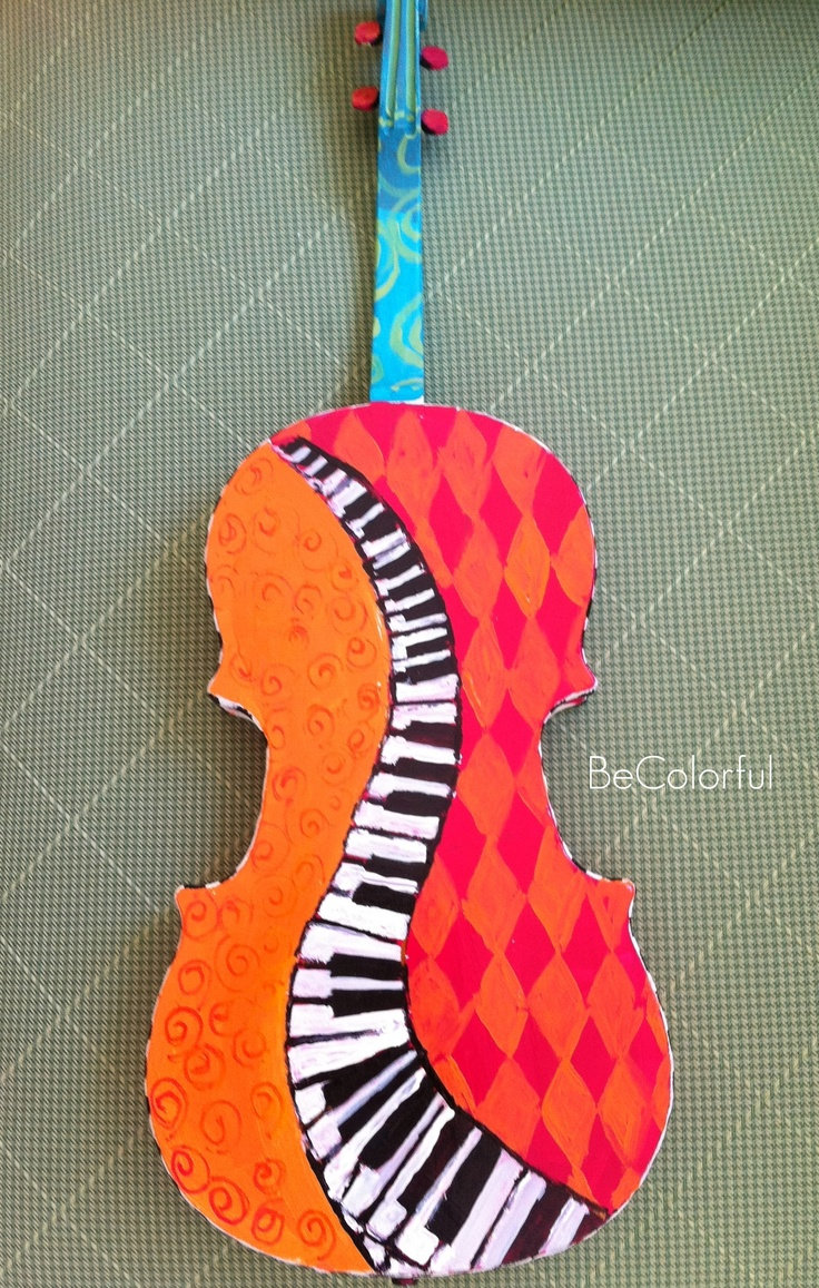 183 Best Hand Painted Guitars Ukuleles And Art Images On