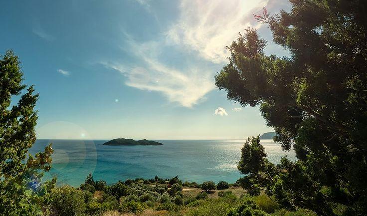 Pelouzo islet, Zante island. Goodmorning...