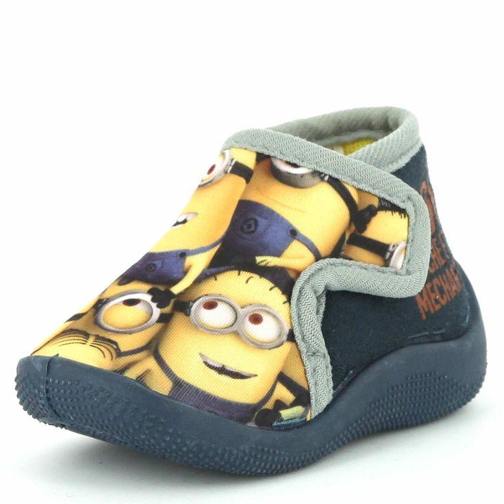 Hoge pantoffels 'Minions'