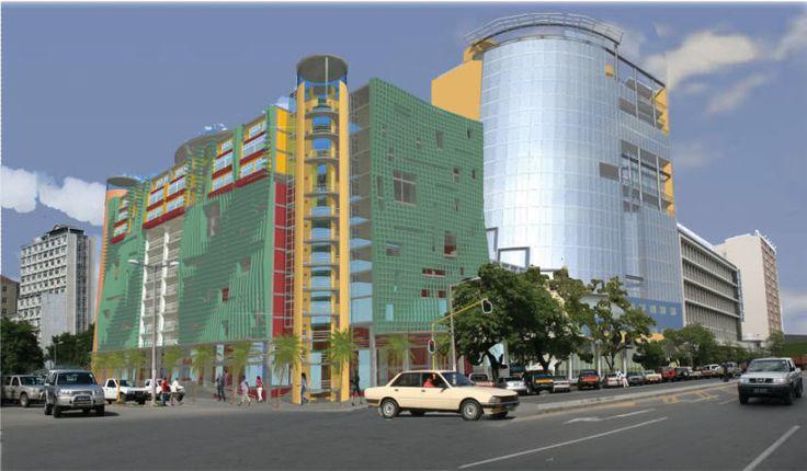Mozambique - Banco de Mocambique Tower 1 - Maputo