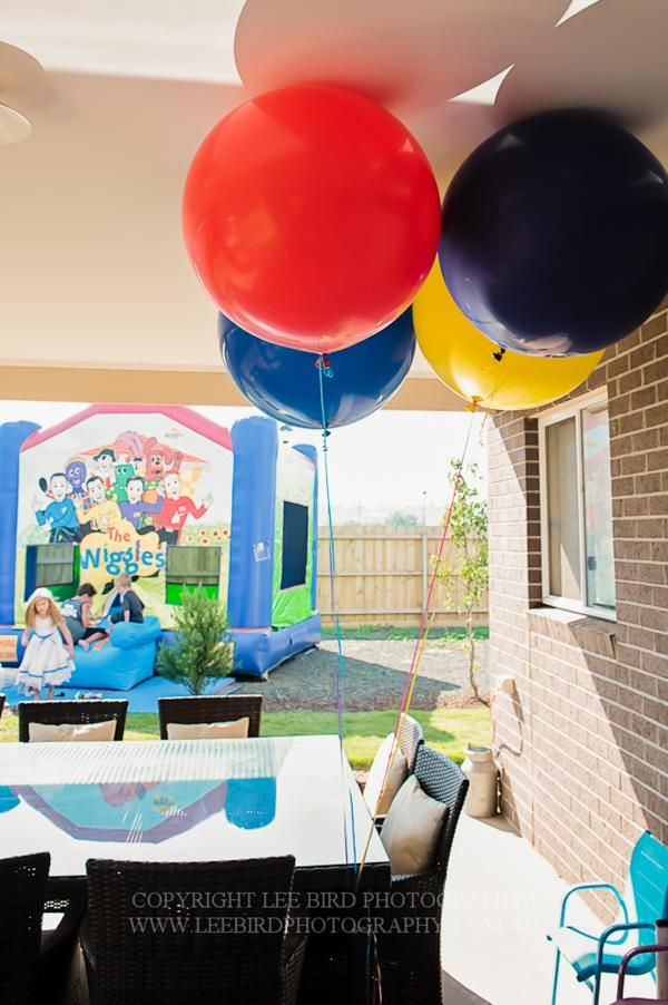 'The Wiggles' Themed Third Birthday Party