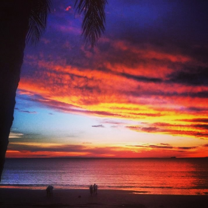 Sunset in Darwin, Australia