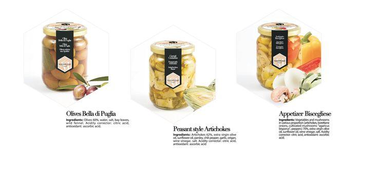 Olives Bella di Puglia Peasant Style Artichokes Antipasto Biscegliese #food  #slowfood  #italy #gourmet #deli #export