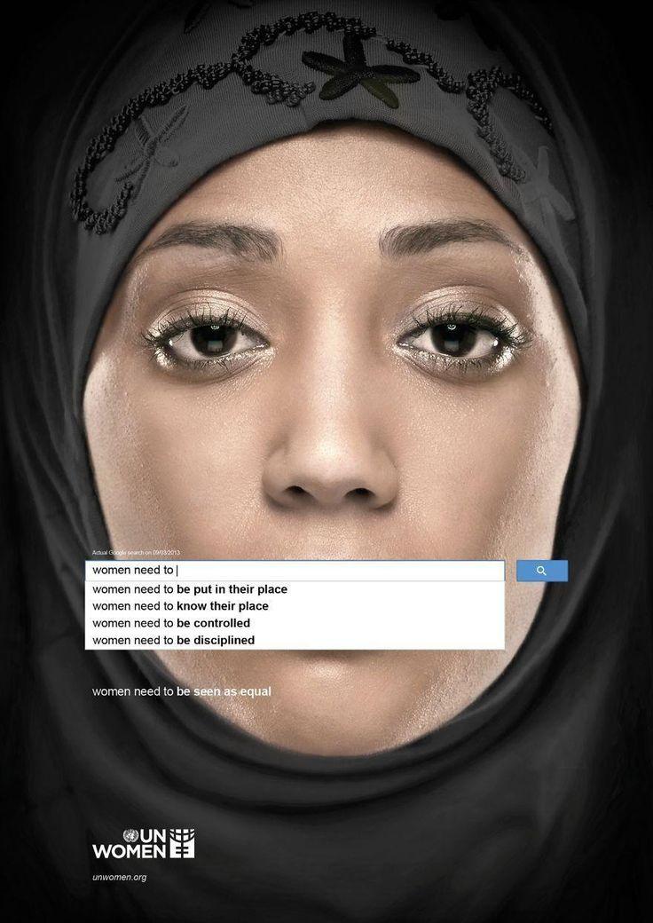 40 publicites sociales chocs un women 1   40 publicités sociales chocs   tabac social securite publicité photo image faim enfant cancer
