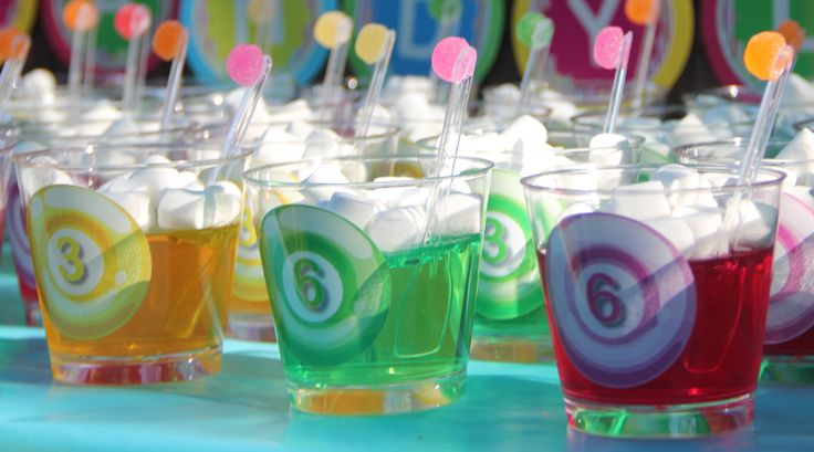 CANDY LAND JELLY CUPS
