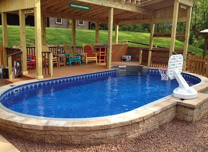Best 20+ Oval Above Ground Pools Ideas On Pinterest