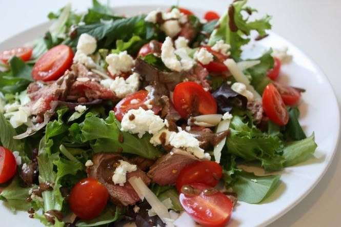 Amazing Lamb Salad - I just made my own version of this last night and let me tell you, it was delish! Also, try adding Trader Joe's Tzaki sauce... WOW!