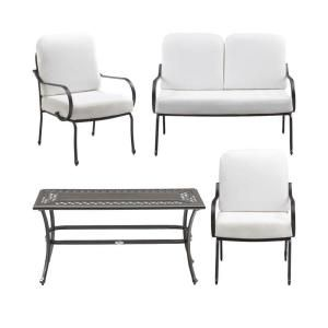 Fall River 4 Piece Patio Seating Set With Bare Cushions DY11034 4