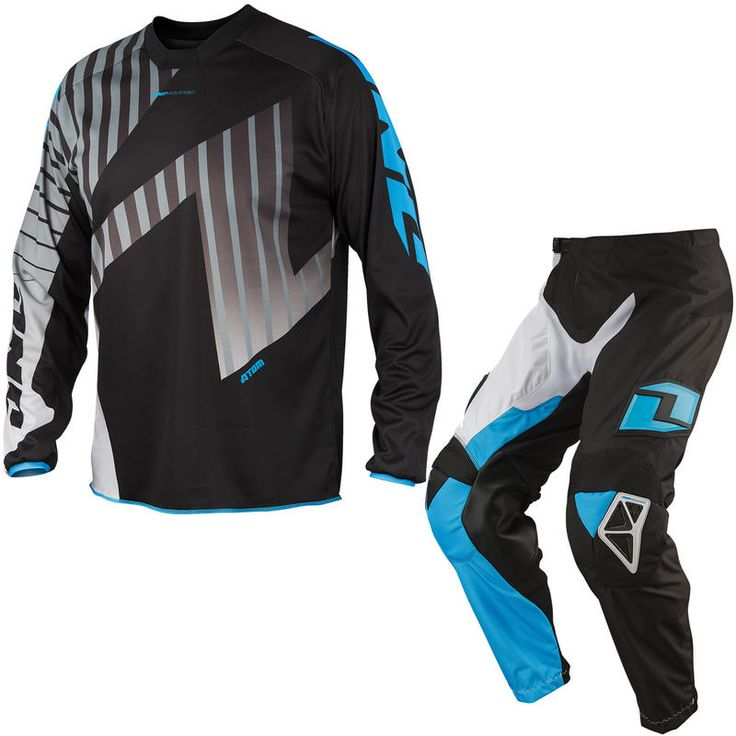 One Industries 2014 Atom Cyan White Motocross Kit Description The