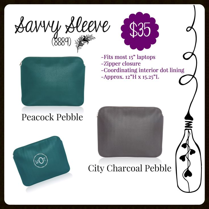 Savvy Sleeve, Thirty-One, Fall 2017