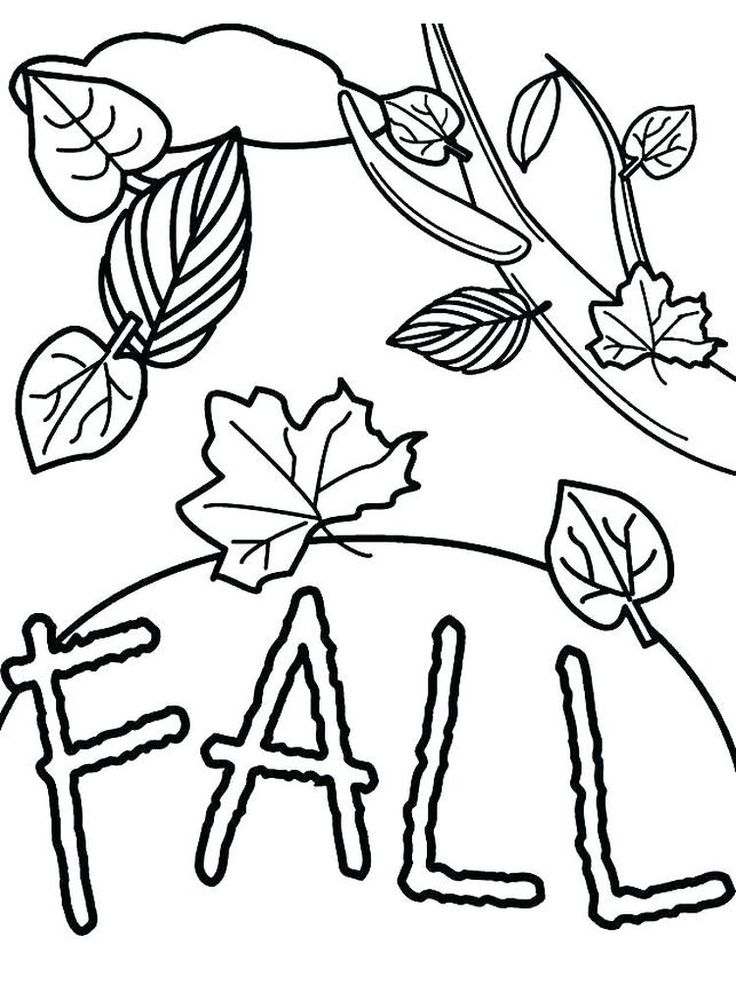 Fall Coloring Pages For 2nd Graders Fall coloring sheets