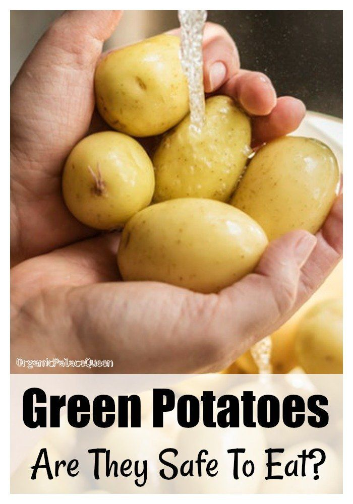 what if potatoes are green