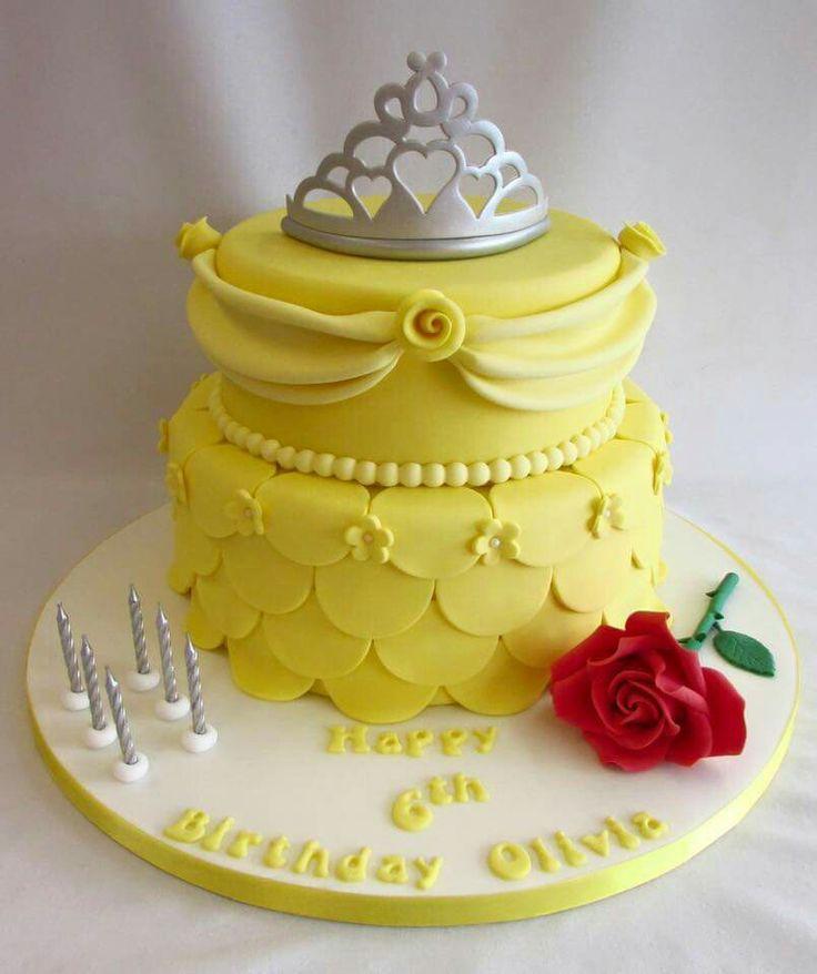 Beauty And The Beast Belle Birthday Cake Fail