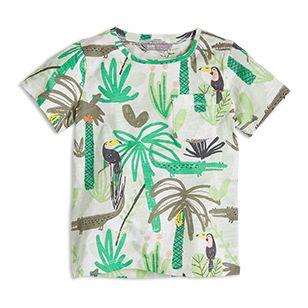Mönstrad t-shirt - Lindex