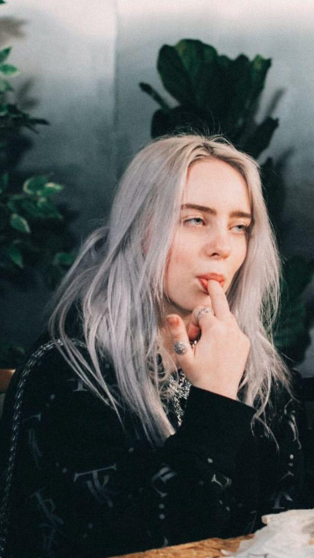Billie Eilish Wallpaper Gray Hair