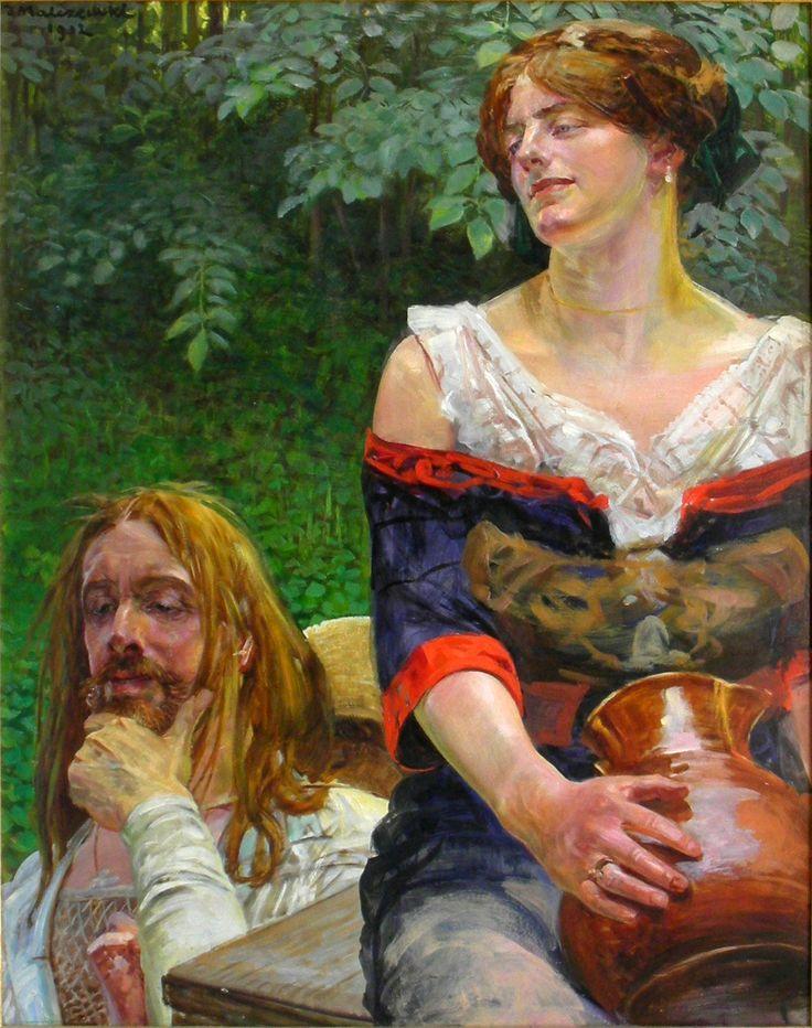Jacek Malczewski, Cristo y la samaritana