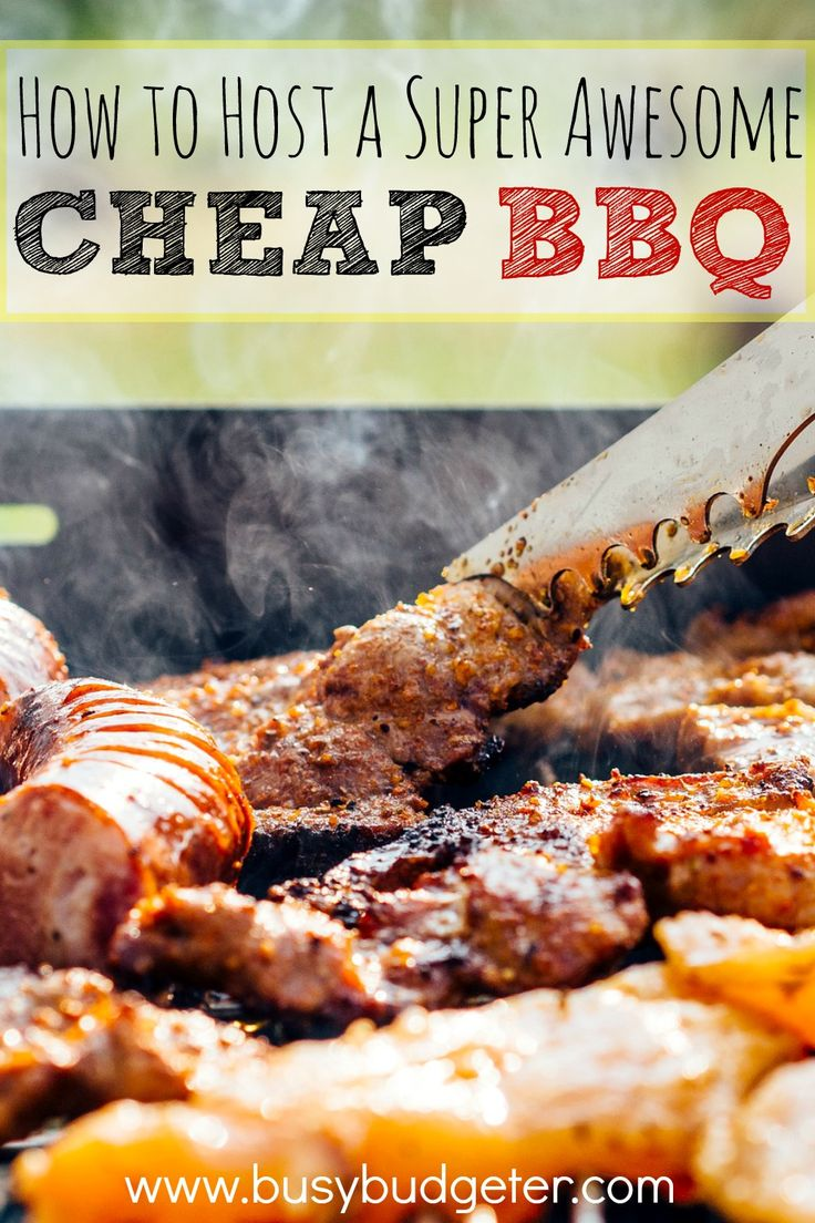 Need a cheap summer idea? How about a super easy, cheap summer BBQ? It's so cheap that you can fit the cost into your weekly grocery budget!