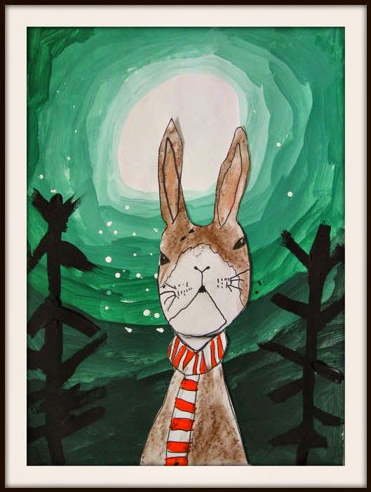MaryMaking: Winter Rabbits with Tints and Shades