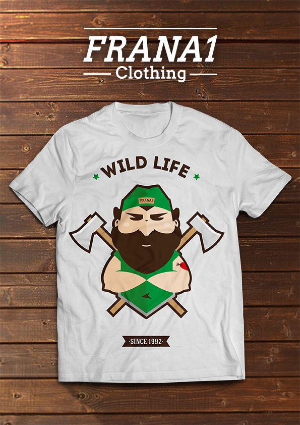 WILD LIFE T-SHIRT Order it now! Send me a message at www.facebook.com/FranaOne