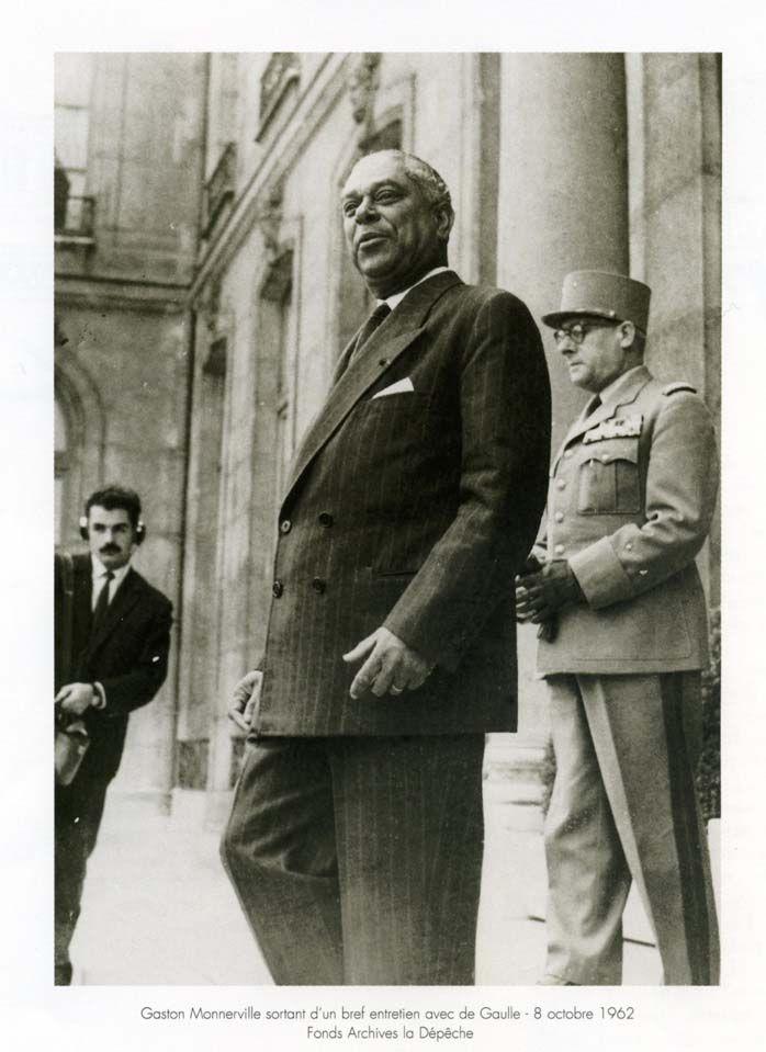 Après avoir été élu aux deux Assemblées nationales constituantes, Gaston Monnerville est élu au Conseil de la République (Guyane) en 1946. Il devient président de ce conseil en mars 1947. Il est alors la première personnalité originaire de l'ancien Empire colonial français à accéder à un tel niveau de responsabilité et le plus jeune président de la haute assemblée (50 ans).