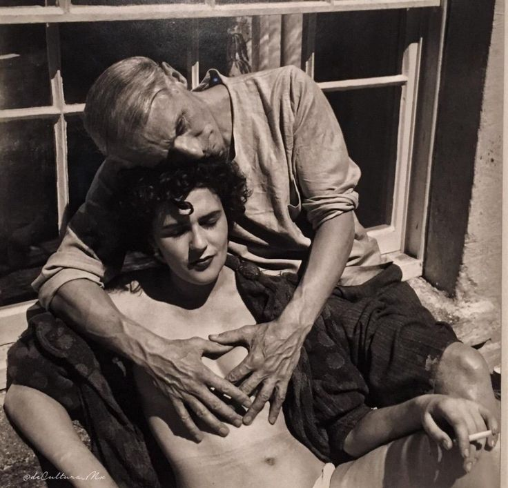 Leonora Carrington & Max Ernst by Lee Miller.