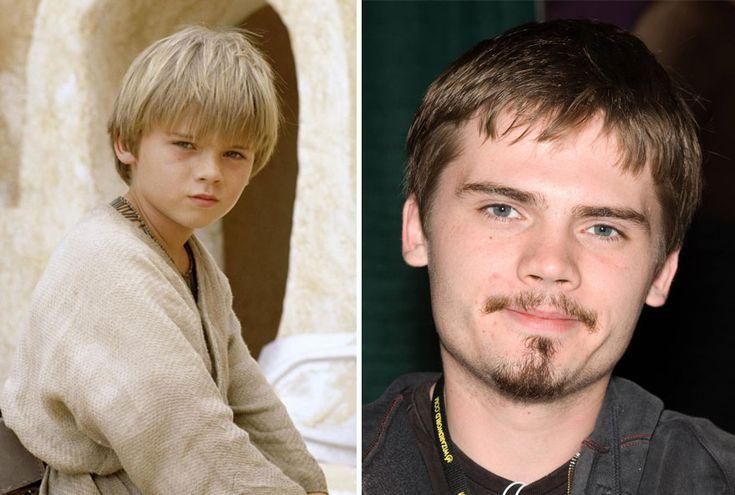 """Seleção de imagens com o antes e depois dos atores que participaram da saga """"Star Wars""""."""
