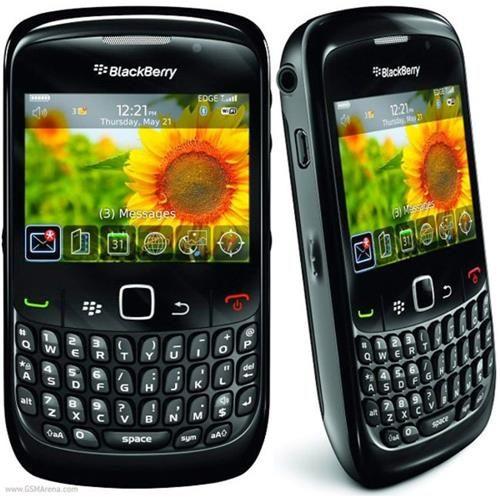 SmartPhone Desbloqueado Blackberry Curve 8520 Preto c/ Câmera 2MP, MP3, Bluetooth, Wi-Fi