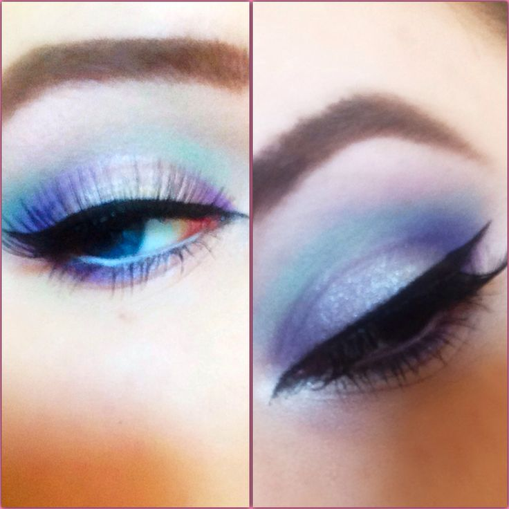 Frozen inspired makeup YouTube ReelBeautyxox