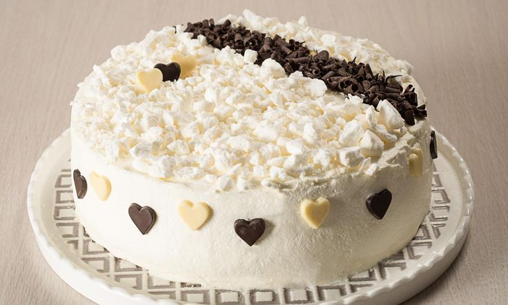 Ricetta Torta meringata di San Valentino - Paneangeli