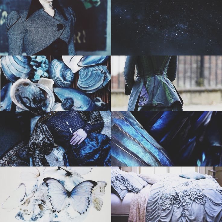 aesthetic: rowena ravenclaw. (she wore blue velvet) // by g. r.